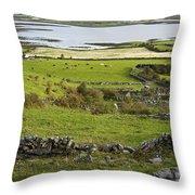 Ireland Farm Throw Pillow