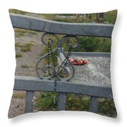 Ireland Rosary For Remembrance Throw Pillow