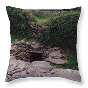 Ireland Time Traveler's Portal Throw Pillow