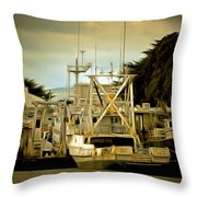 Irenes Way Morro Bay Digital Throw Pillow