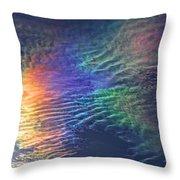 Iridescent Clouds 1 Throw Pillow