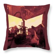 Irie Mechanical 2 Throw Pillow