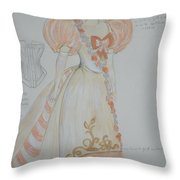 Irina From 'the Three Sisters' Throw Pillow