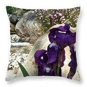Iris 14 Throw Pillow