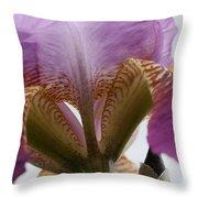 Iris 28 Reaching For The Sky Throw Pillow