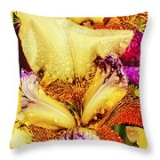 Iris - Customized Throw Pillow