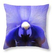 Iris Inside Throw Pillow