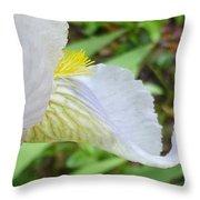 Iris Macro 2 Throw Pillow