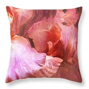 Iris Moods 2 Throw Pillow