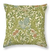 Iris Pattern Throw Pillow