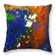 Irish Brawler Throw Pillow