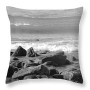 Irish Coast Throw Pillow