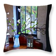 Irish Elegance Throw Pillow