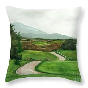 Irish Greens Throw Pillow