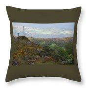 A Serene Irish Landscape # 3  Throw Pillow