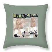 Irish Lasses Throw Pillow