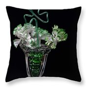 Irish Spring Throw Pillow