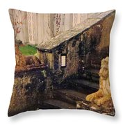 Irish Steps Throw Pillow