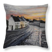 Rathvilly After The Rain Throw Pillow