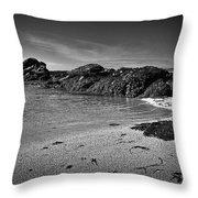 Irish West Coast Throw Pillow