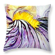 Irisiris Throw Pillow