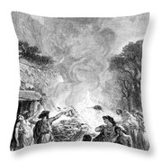 Iron Age, Funeral Ceremony Throw Pillow
