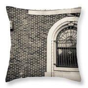 Iron Arches Throw Pillow