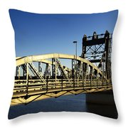 Iron Bridge Throw Pillow