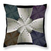 Iron Cross Ironic Cross Throw Pillow