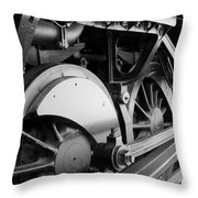 Iron Horse. Throw Pillow