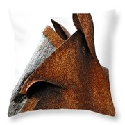 Iron Horse Throw Pillow