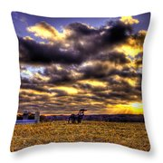Iron Horse Still Strong Throw Pillow