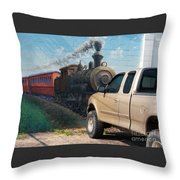 Iron Horsepower Throw Pillow