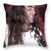 Iron Maiden Throw Pillow