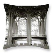 Iron Mosque Throw Pillow