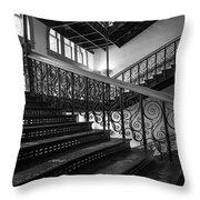 Iron Staircases Throw Pillow