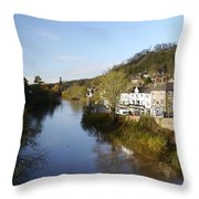 Ironbridge Village Throw Pillow