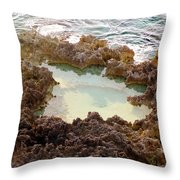Ironshore Tidewater Pool Throw Pillow
