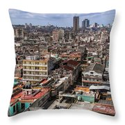 Irony Of Cuba Throw Pillow