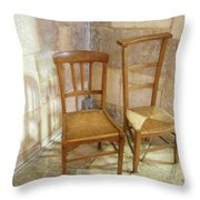 Irreconcilable Differences Throw Pillow