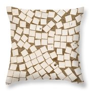 Irregular Mosaic Texture Throw Pillow