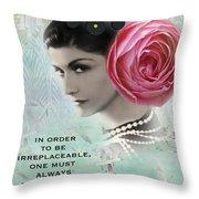 Irreplacable Throw Pillow
