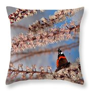 Irresistible Blossom Throw Pillow