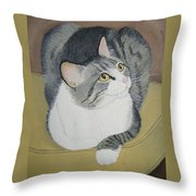 Is Dinner Ready Throw Pillow