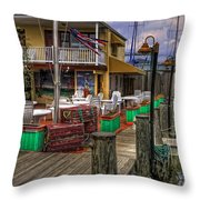 Is It Five O'clock Yet Throw Pillow
