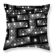 I's Of Las Vegas Throw Pillow