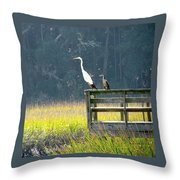 Is That Daddy? Throw Pillow
