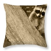 Is This My Good Side Throw Pillow