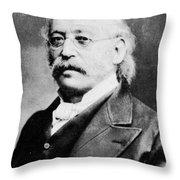 Isaac Mayer Wise (1819-1900) Throw Pillow
