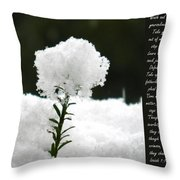 Isaiah 1 Vs 16 To 18 Throw Pillow For Sale By Nicki Bennett